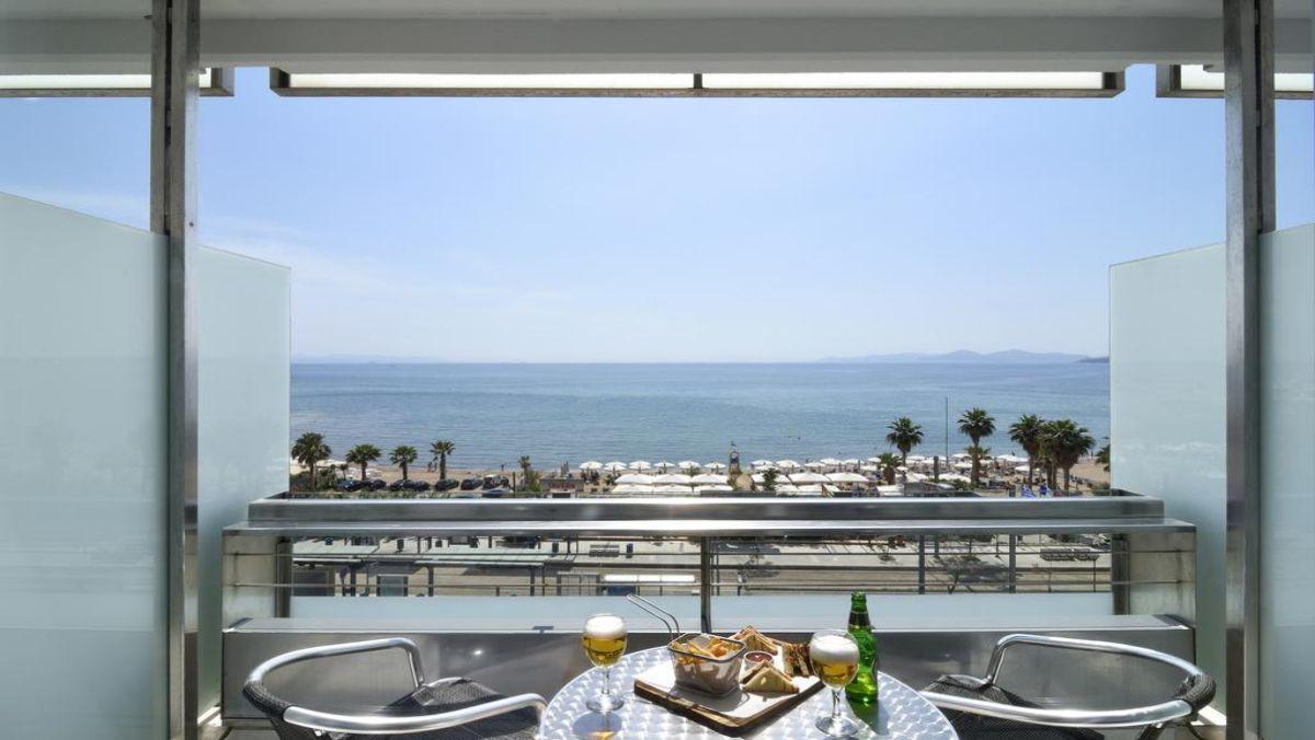 Poseidon Athens Hotel μπαλκονι
