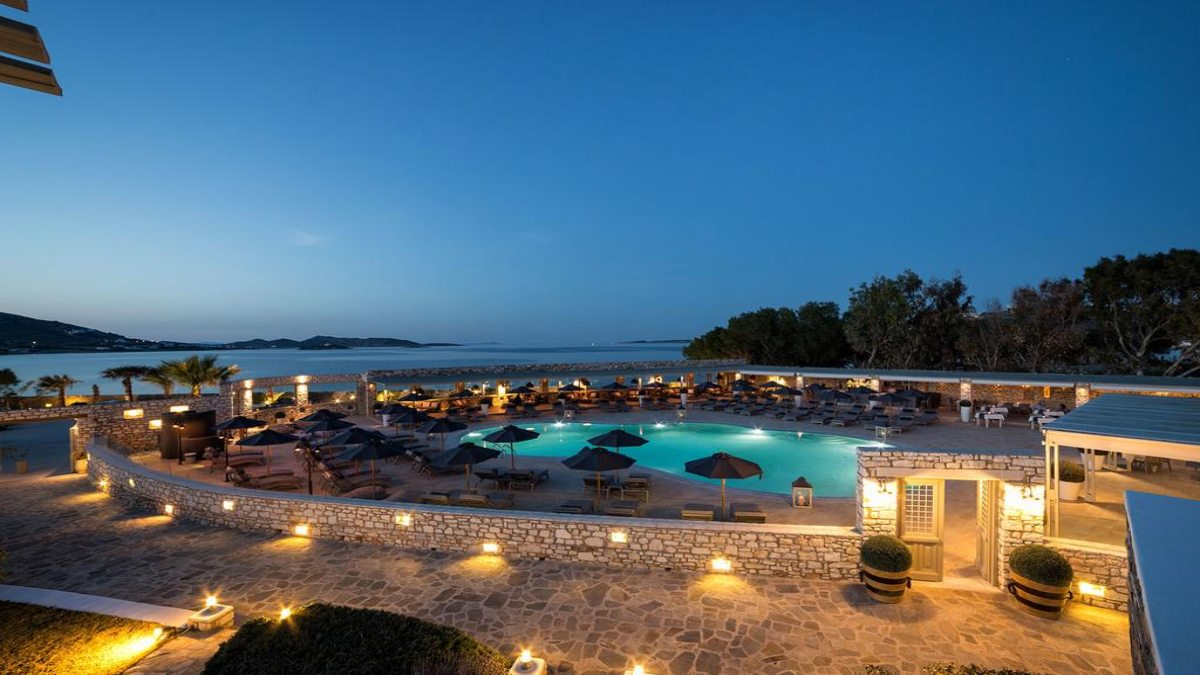 Saint Andrea Resort πανοραμικη πισινας