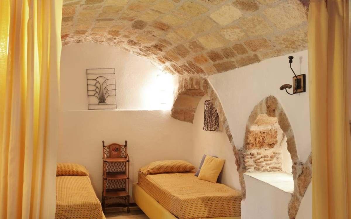 Casa Palma δωμάτιο με μονά κρεβάτια