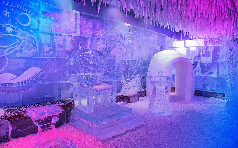Chillout Lounge στο Ντουμπάι  σχεδιασμός