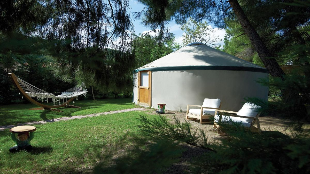 Camping Bungalows στην Αγία Άννα