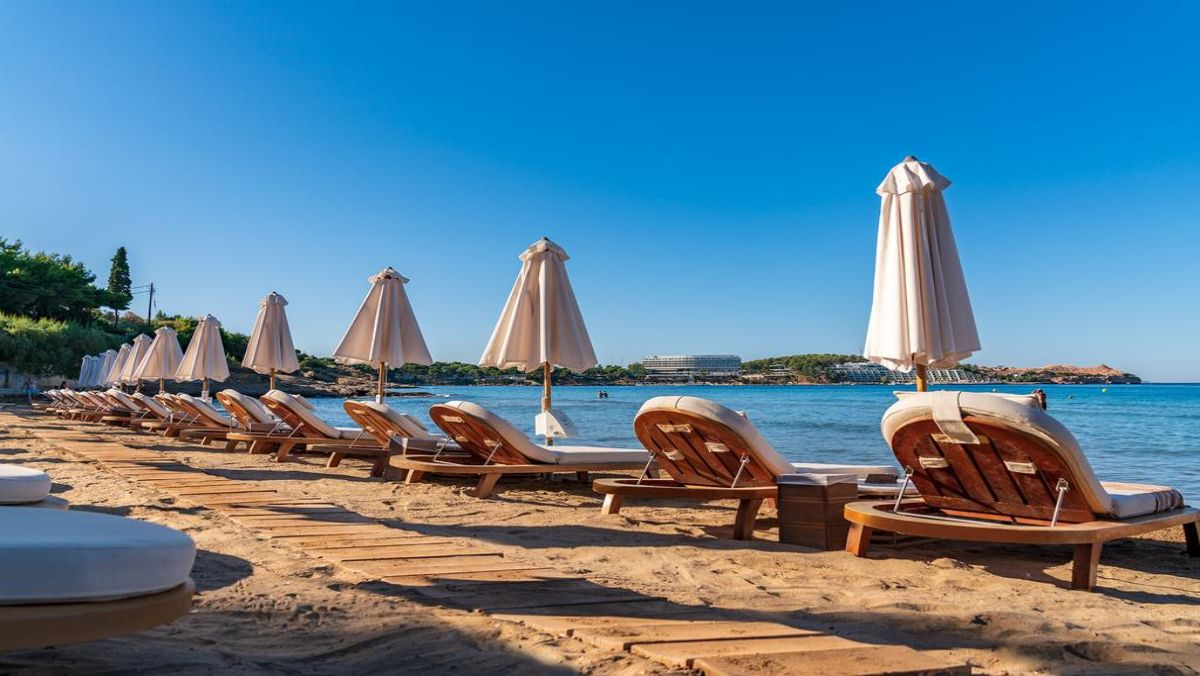 Coral Hotel Athens θαλασσα