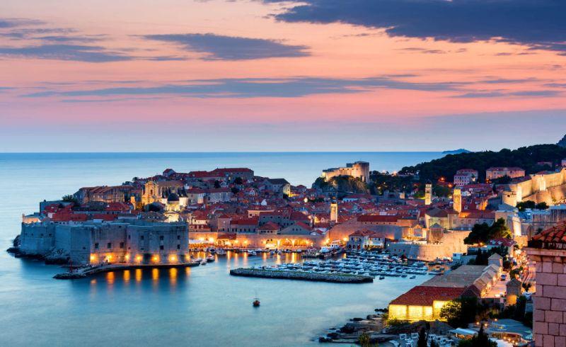 Ντουμπρόβνικ, Κροατία θαλασσα