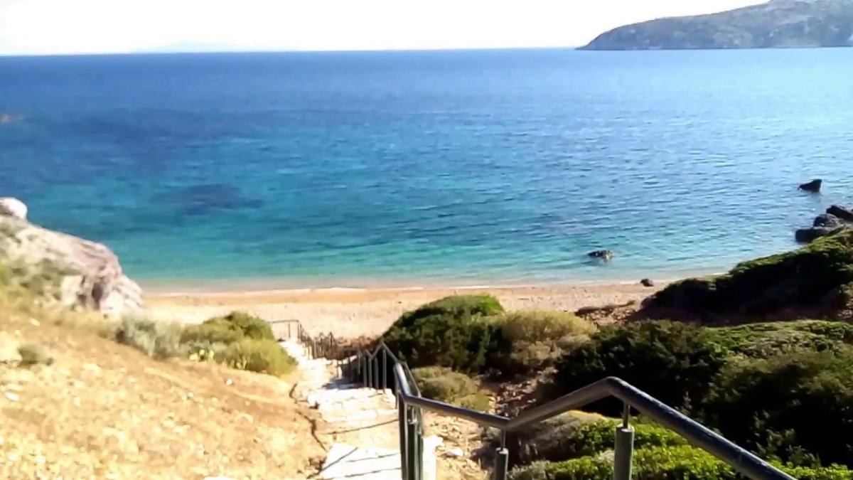 η παραλία του ΚΑΠΕ