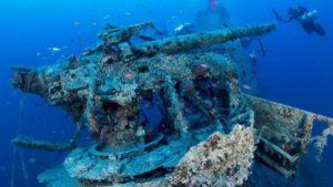 Κεφαλονιά: Μαγικές εικόνες από υποβρύχιο ναυάγιο…79ετίας!