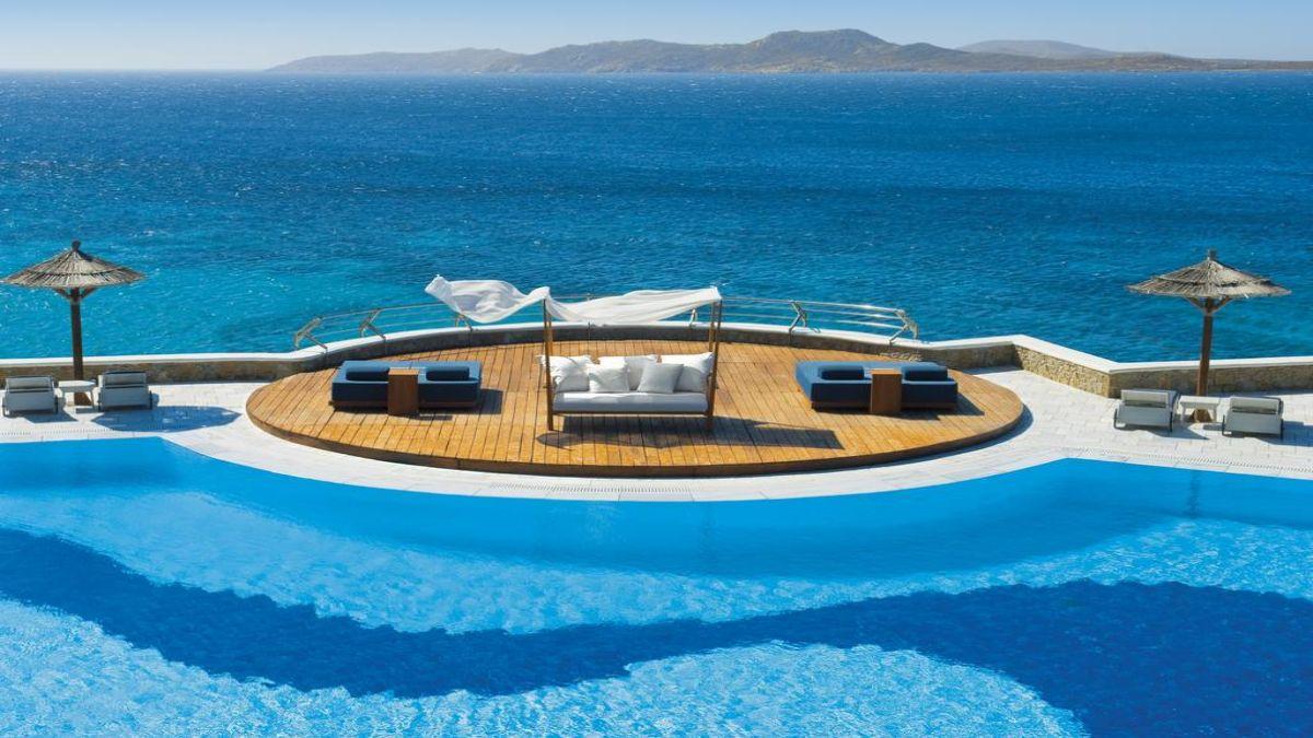 Ξενοδοχείο Mykonos Grand Hotel & Resort πισίνα