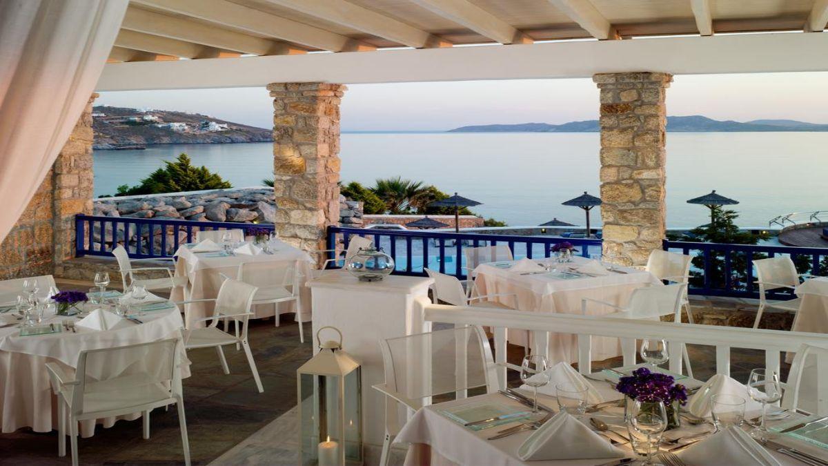 Ξενοδοχείο Mykonos Grand Hotel & Resort για φαγητό