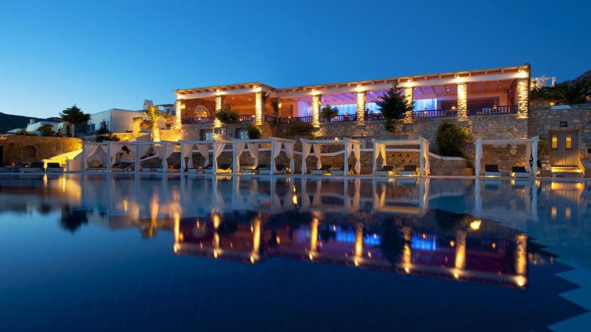 Ξενοδοχείο Mykonos Grand Hotel & Resort εξωτερικά