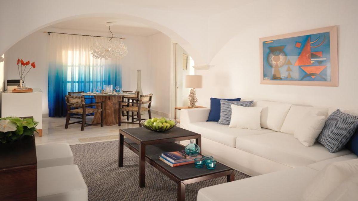 Ξενοδοχείο Mykonos Grand Hotel & Resort παραδοσιακή αισθητική