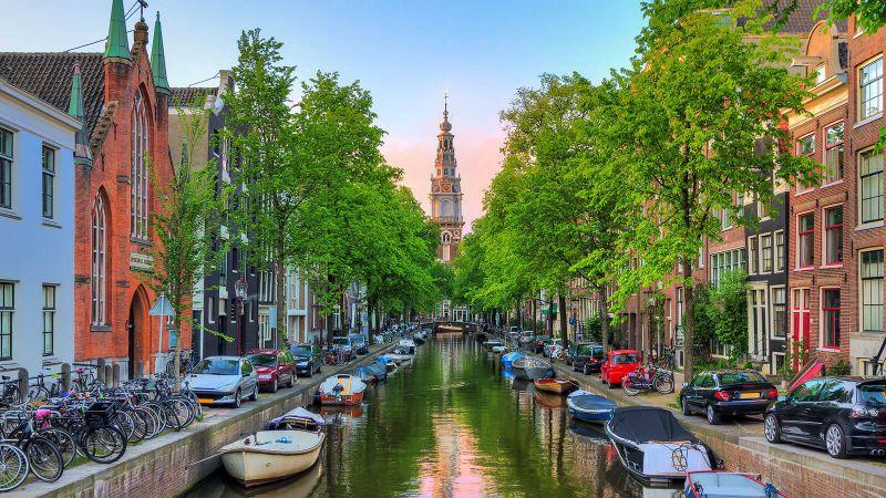 Άμστερνταμ, Ολλανδία καναλι