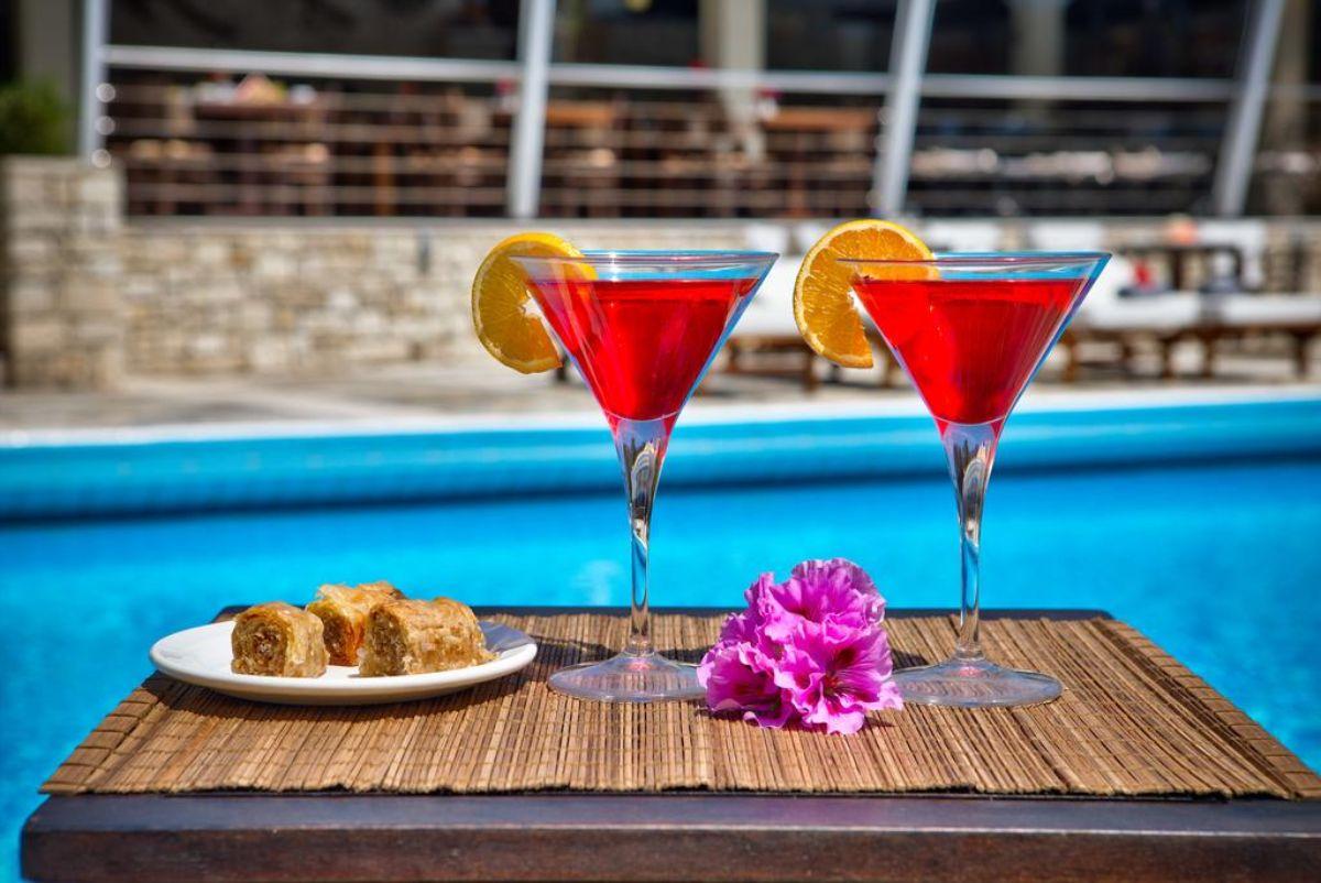 Paxos Club Resort & SPA ποτά και σνακ