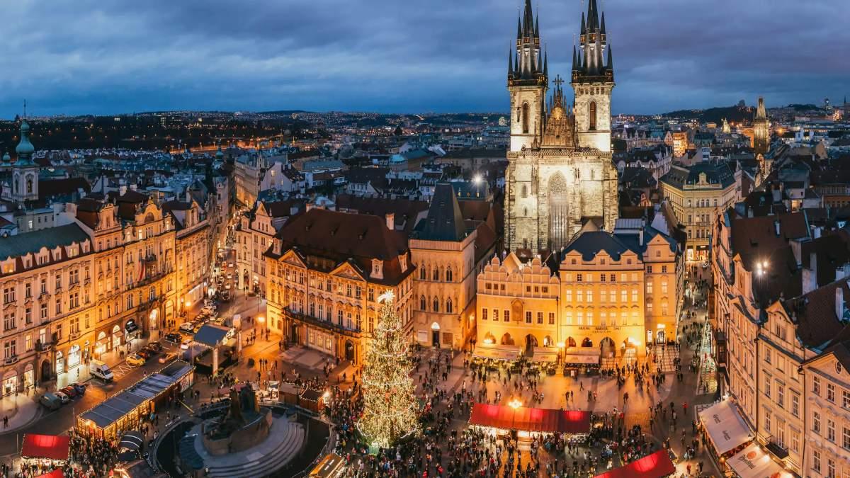 Πράγα Τσεχία κεντρική πλατεία