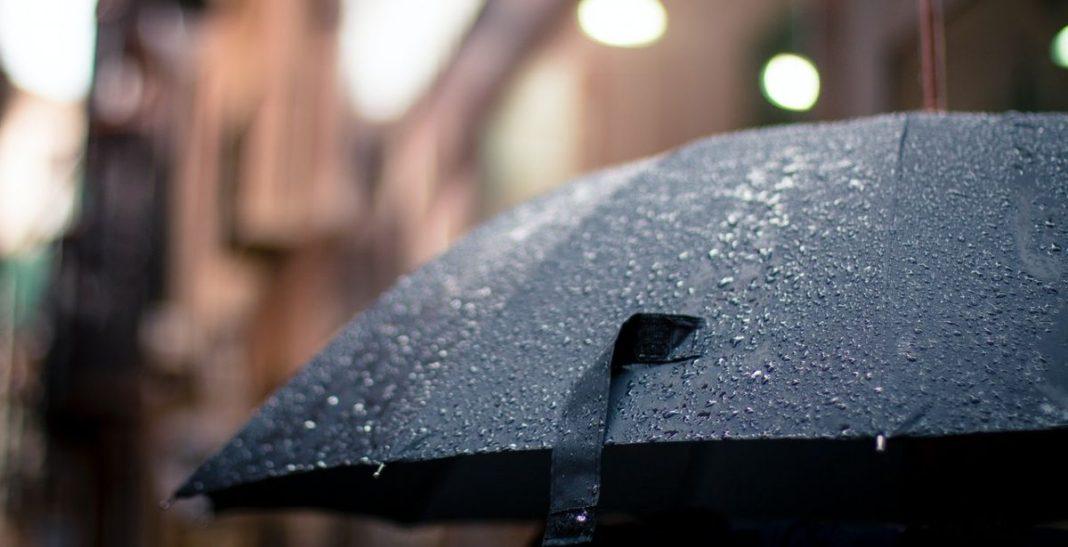 καιρός με βροχές καλοκαίρι