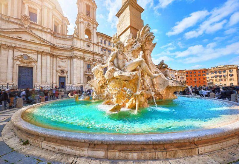Ρώμη, Ιταλία συντριβανι