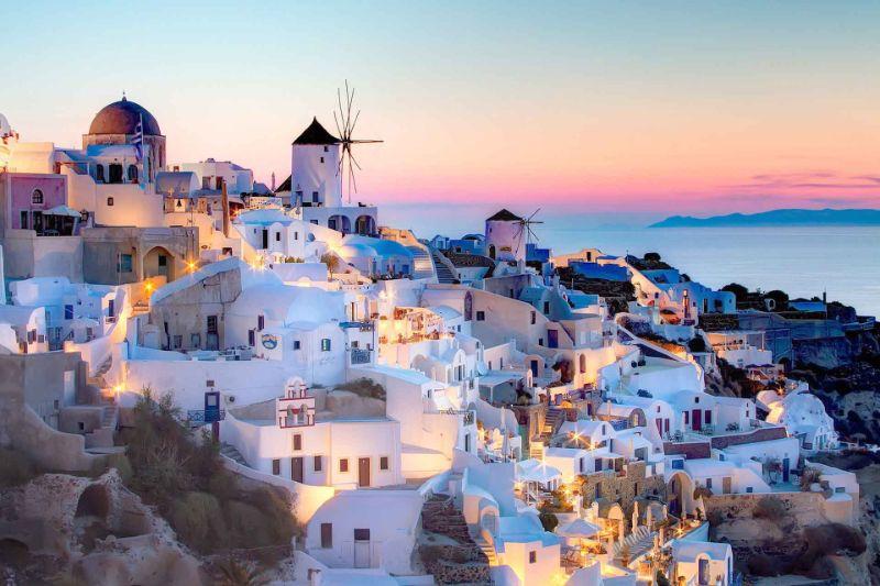 Σαντορίνη, Ελλάδα ηλιοβασιλεμα