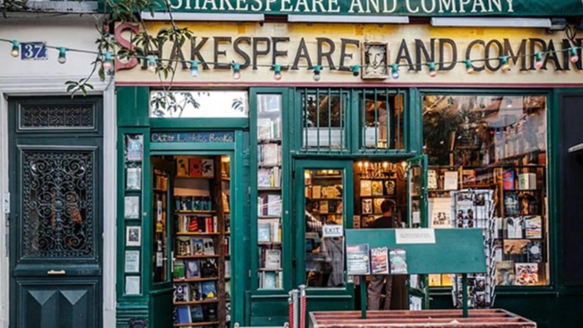 Παρίσι, βιβλιοπωλείο Shakespeare and Company
