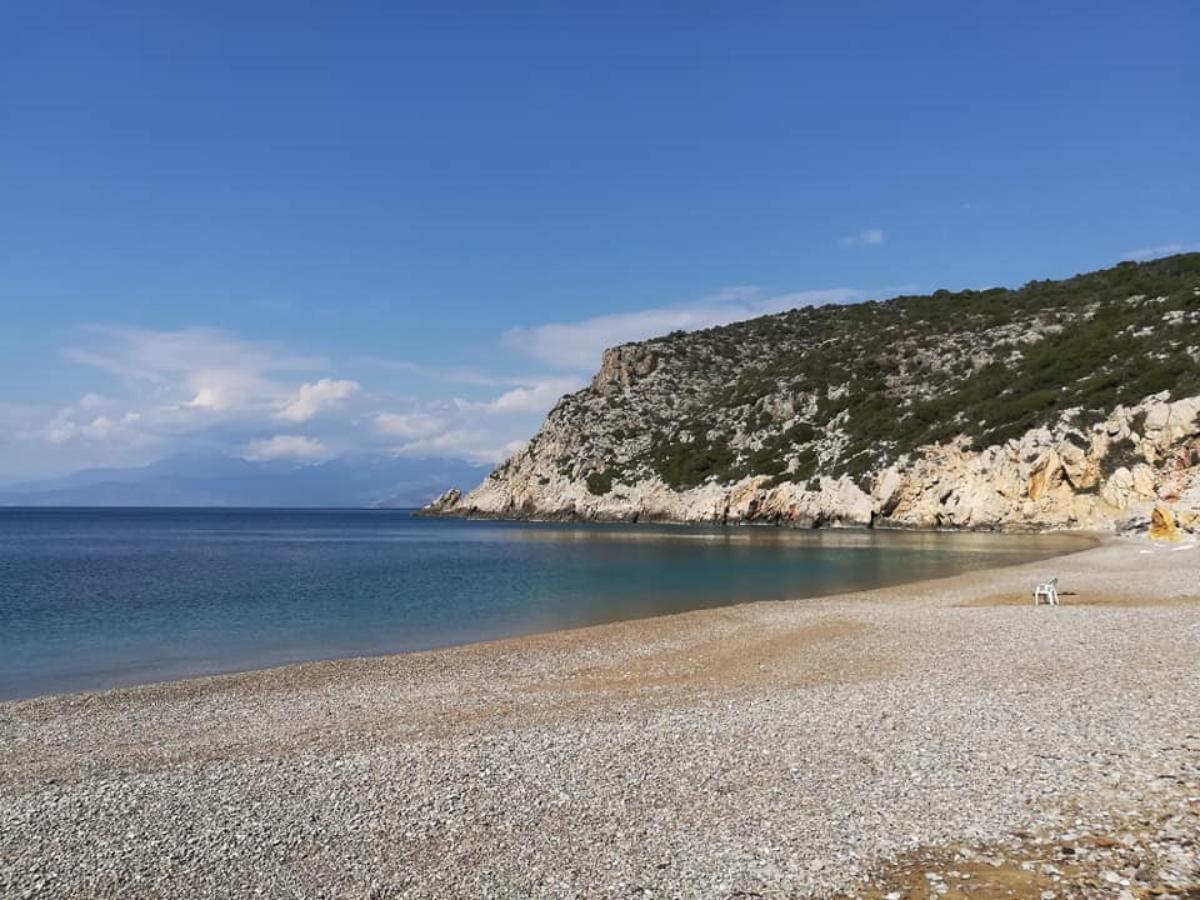 Υπέροχη παραλία της Σκαλωσιάς