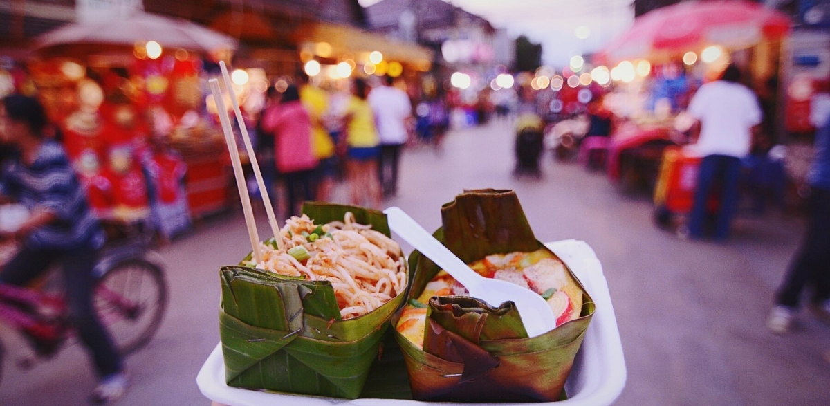 street food σε ανοιχτές αγορές