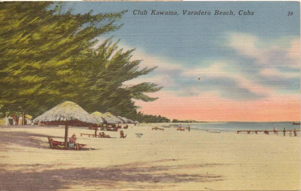Καρτ ποστάλ Βαραδέρο, Κούβα