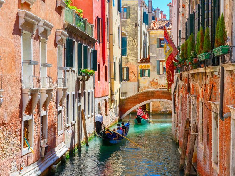 Βενετία, Ιταλία καναλι