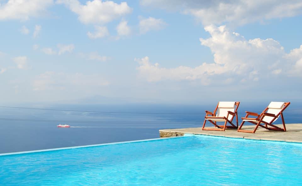 Villa Melissa πισίνα