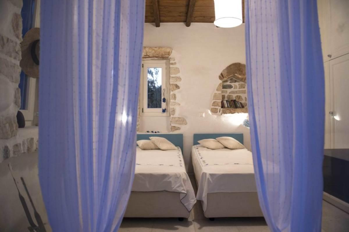 βίλα βότσαλο υπνοδωμάτιο