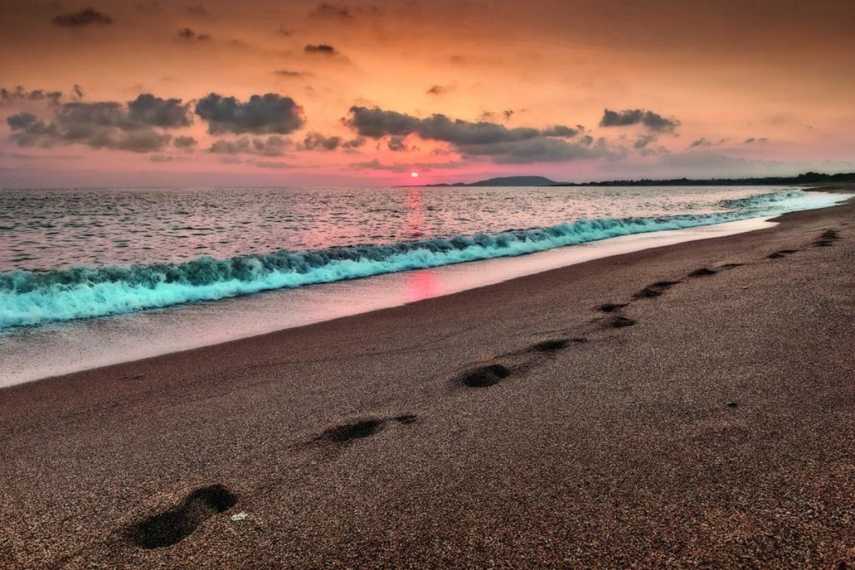 Westin Resort Costa Navarino η παραλία του ξενοδοχειου