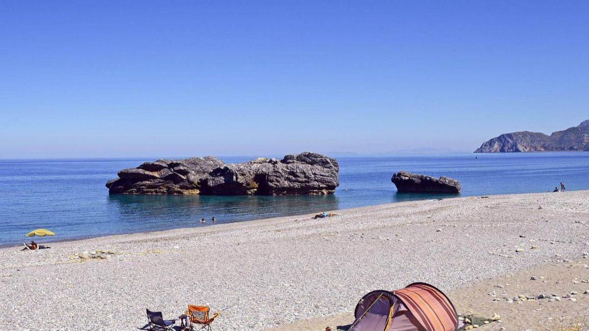 Η πανέμορφη παραλία Χιλιαδού