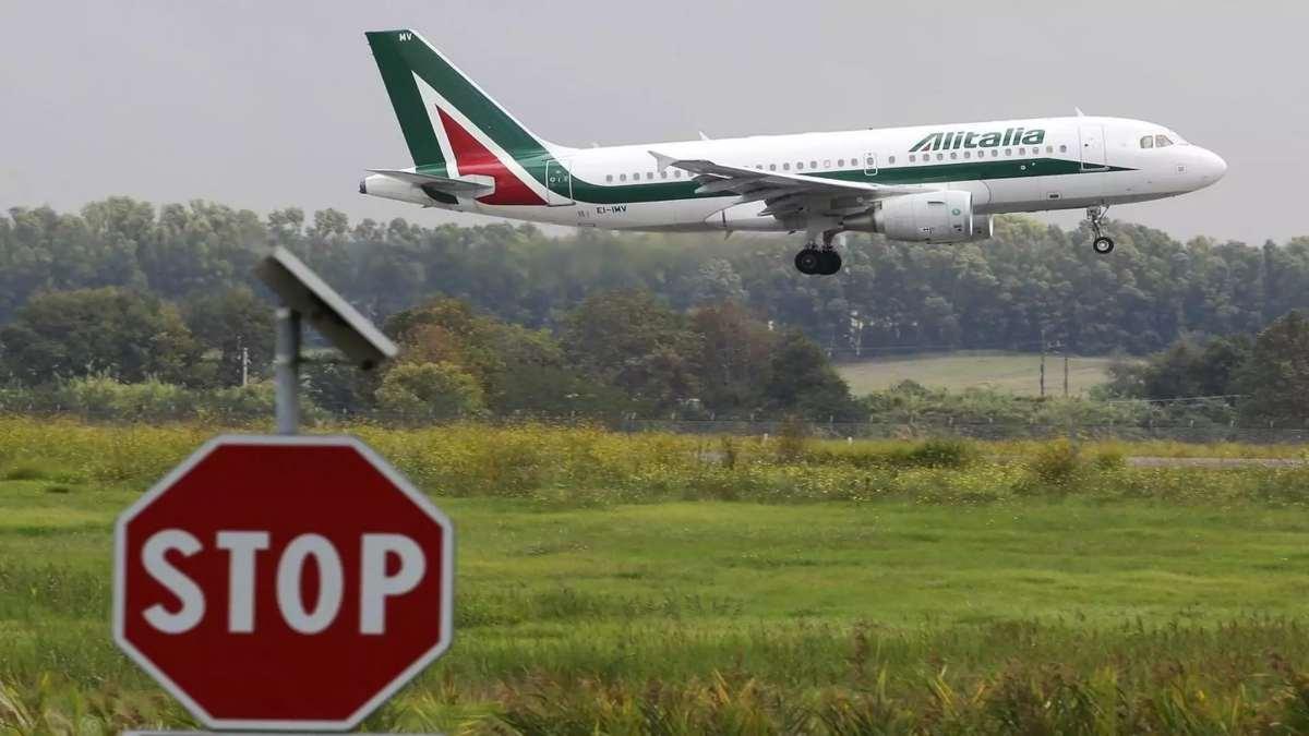 Αεροπλάνο της Alitalia