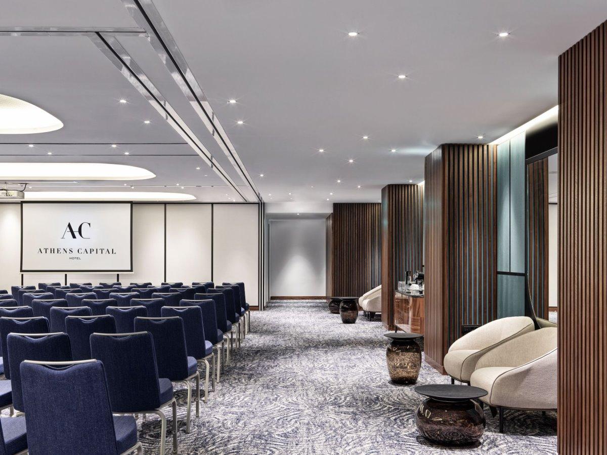 Αίθουσα συνεδριάσεων του Athens Capital Hotel - MGallery