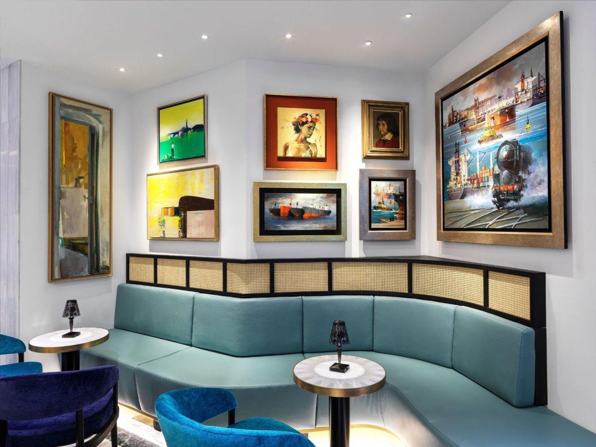 Η τέχνη είναι βασικό κομμάτι του Athens Capital Hotel - MGallery