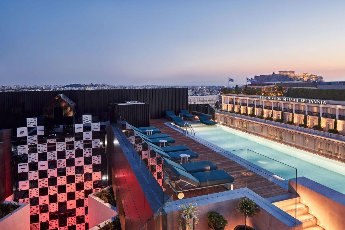 Το υπέροχο rooftop του Athens Capital Hotel - MGallery