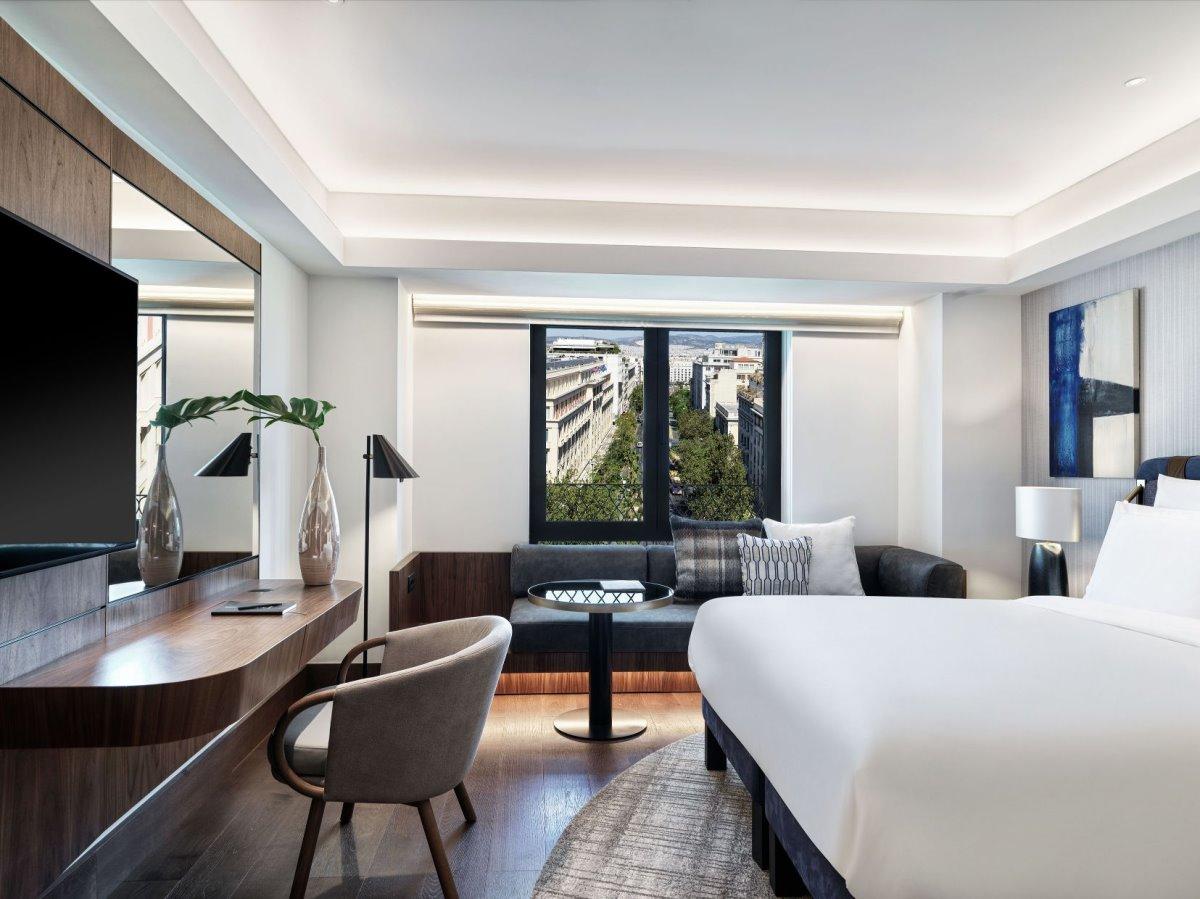 Η εκπληκτική θέα από δωμάτιο του Athens Capital Hotel - MGallery