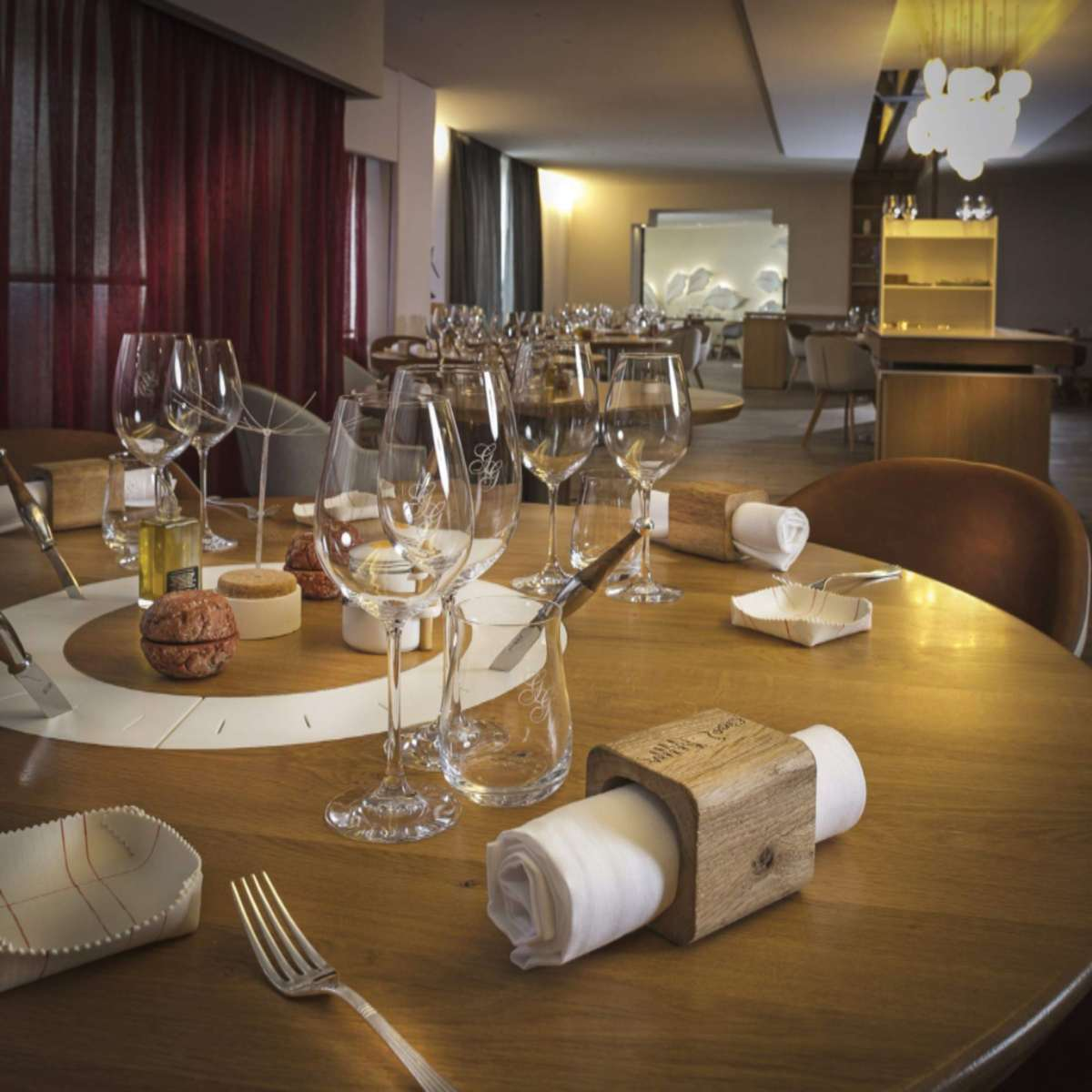 Auberge du Vieux Puits καλύτερο εστιατόριο 2020 εσωτερική άποψη