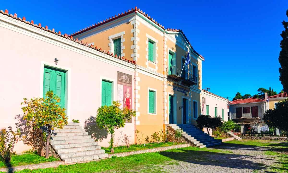 Το Εθνικό - Λαογραφικό Μουσείο στο Χρισσό
