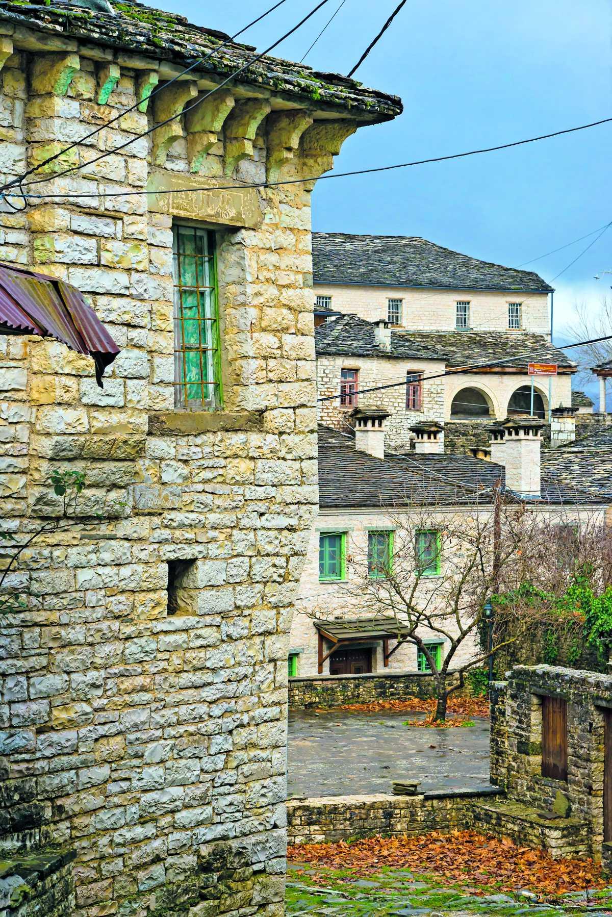Τα πετρόχτιστα σπίτια στο Δίλοφο Ζαγορίου