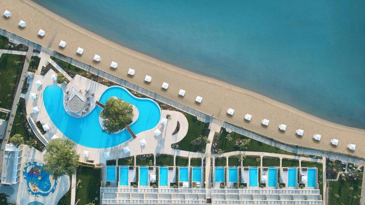 Ikos Dassia Hotel πανοραμική άποψη