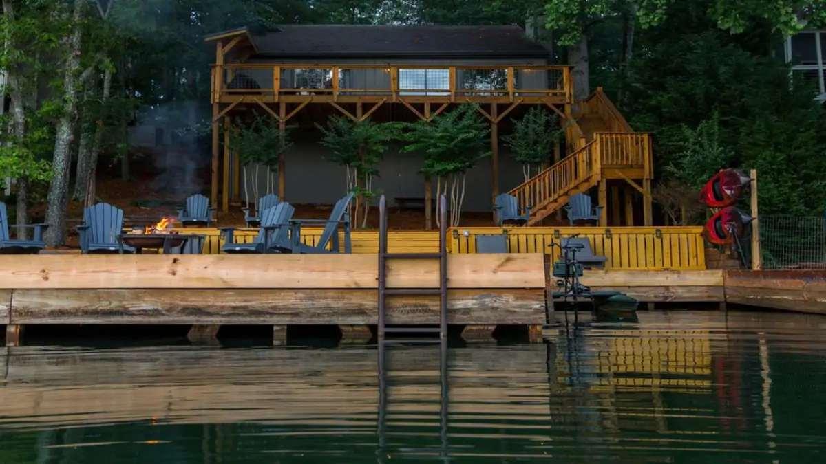 Αγροικία στη λίμνη Arrowhead, Γεωργία Airbnb