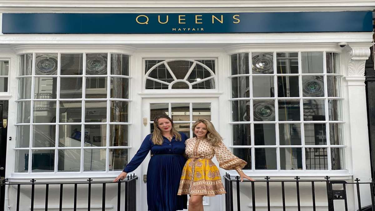 queens of mayfair Λονδίνο ακριβός καφές ιδιοκτήτριες