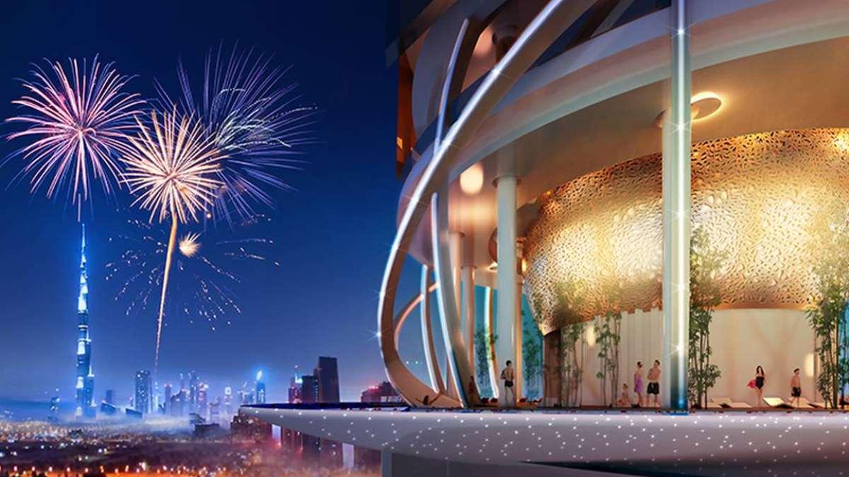 5άστερο ξενοδοχείο Rosemont Hotel & Residences ξενοδοχείο με τροπικό δάσος εξωτερική λήψη Ντουμπάι