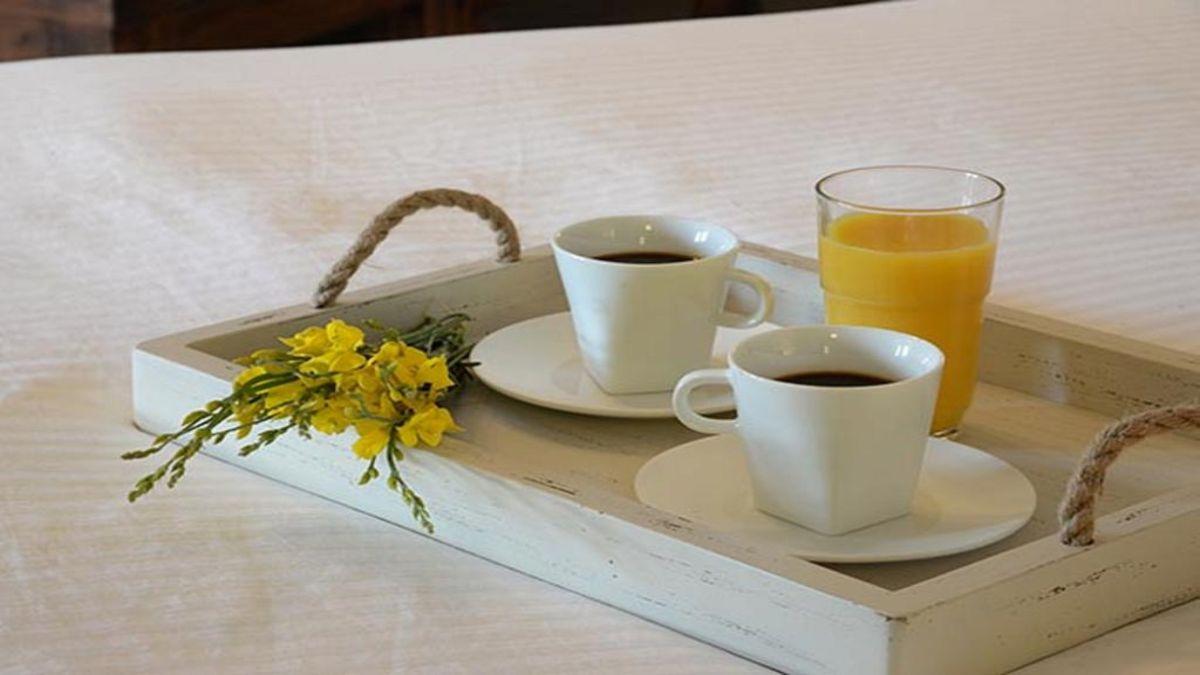 Abeliona Retreat πρωινό