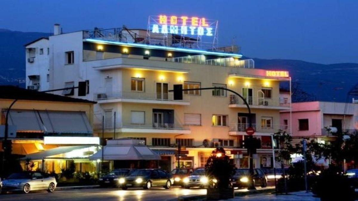 Hotel Άδμητος εξωτερικά