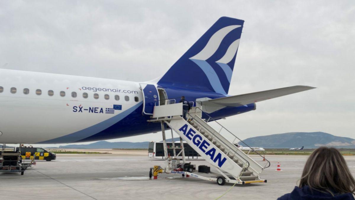 Aegean αναστολή πτήσεων θεσσαλονίκη