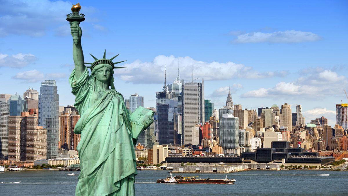 Άγαλμα Ελευθερίας, Νέα Υόρκη