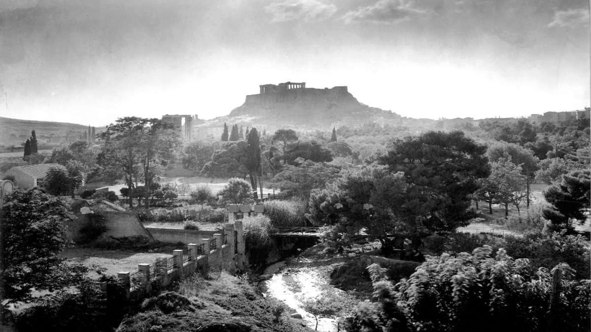 Ακρόπολη 1910 Παλιά Αθήνα
