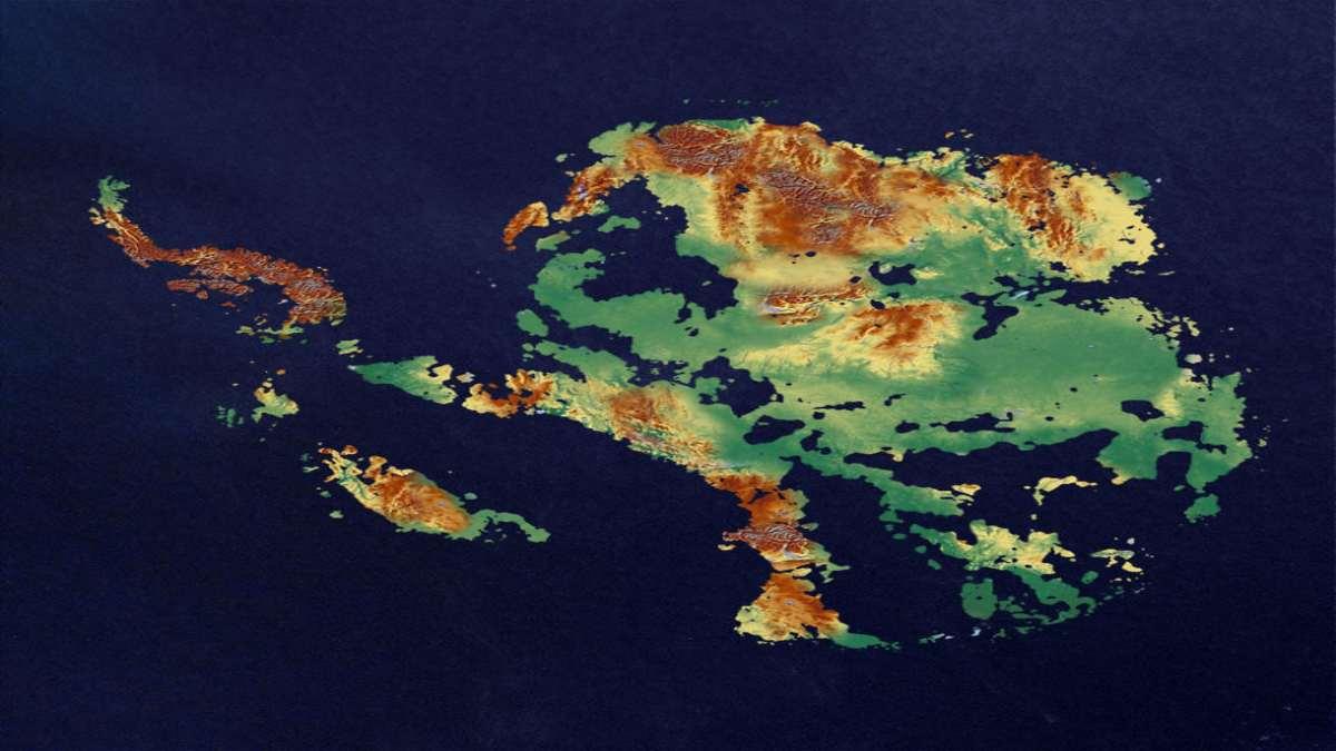 Ανταρκτική μετά την κλιματική αλλαγή από ψηλά
