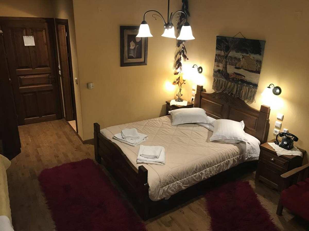 Ξενοδοxείο Tsiboni, Ελάτη Τρικάλων