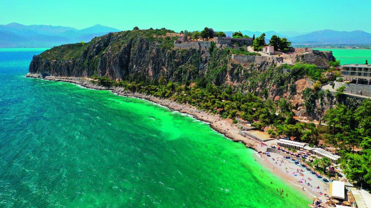 Παραλία Καραθώνα, Ναύπλιο