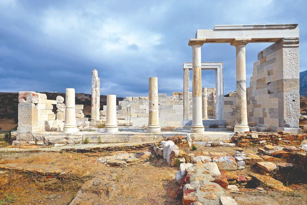 Ο αρχαίος ναός της Δήμητρας, Νάξος