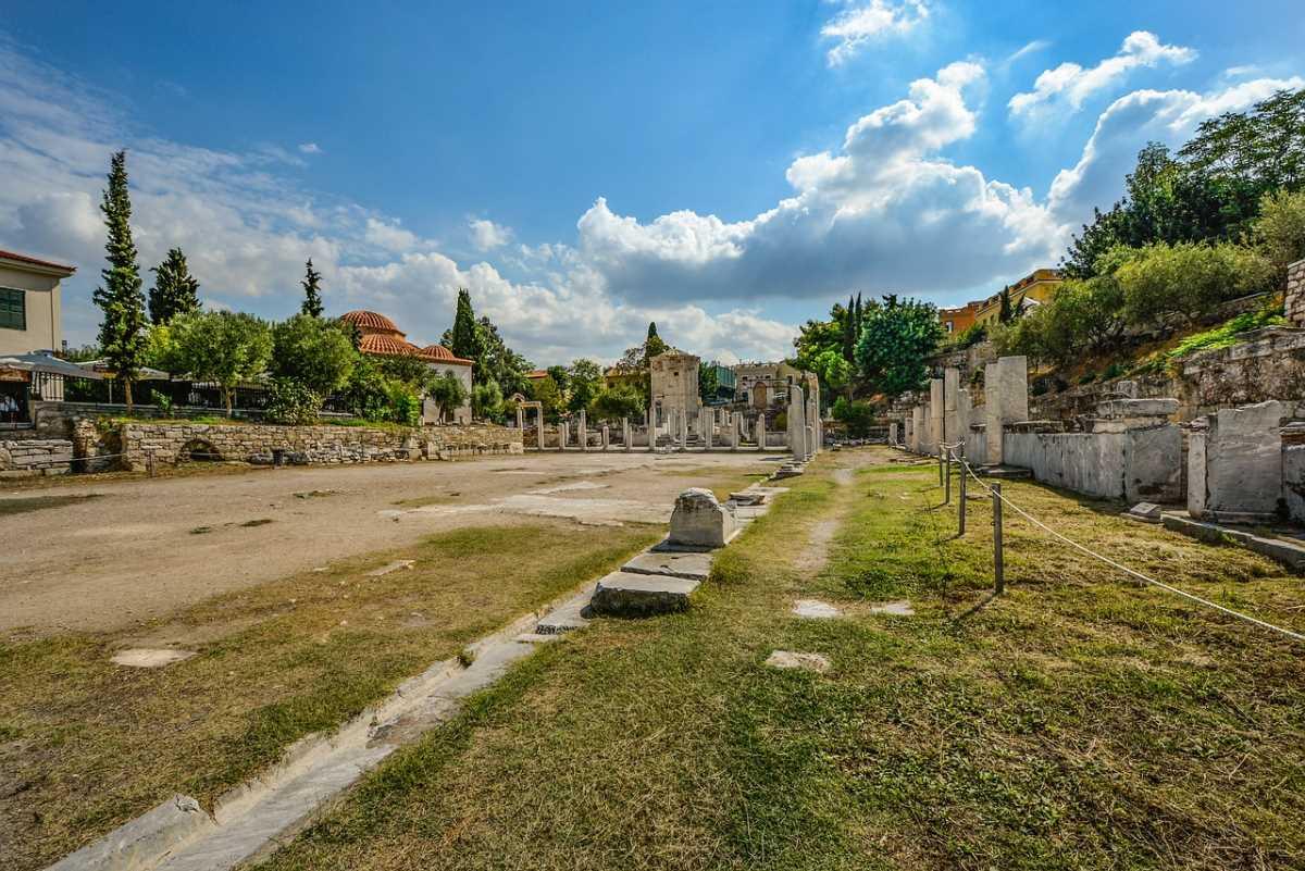 Η αρχαία αγορά, Αθήνα